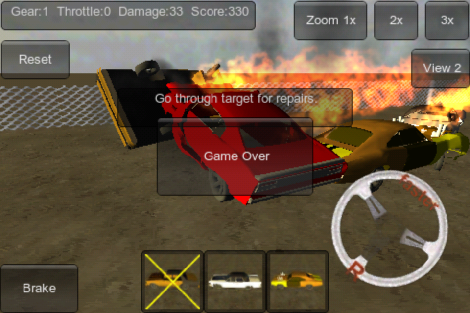 Screenshot Demolition Derby 3D