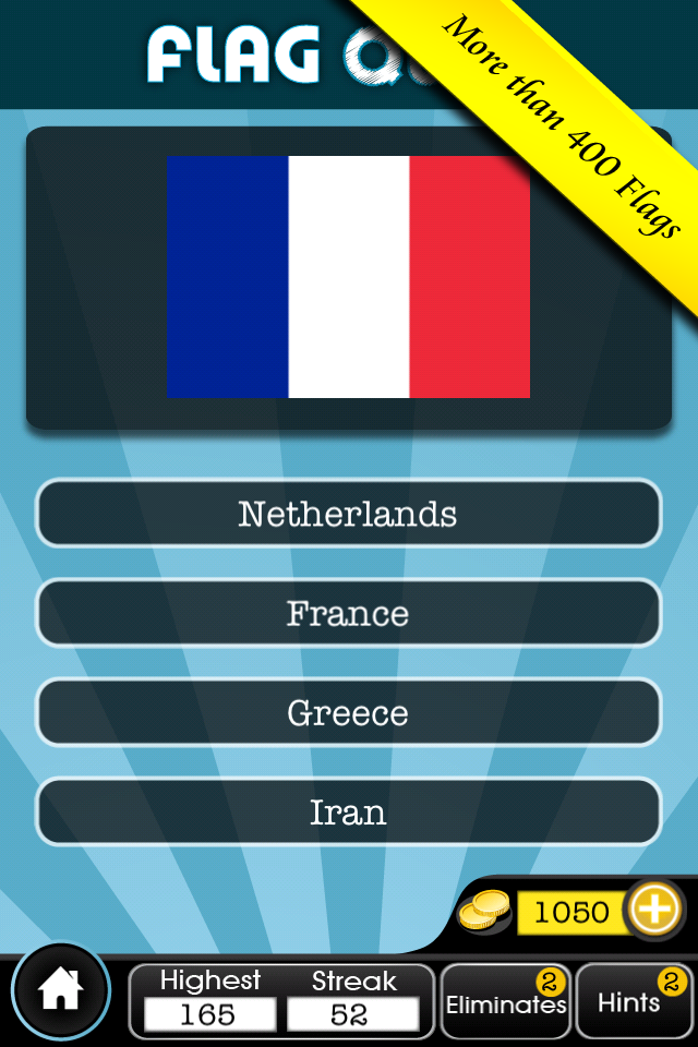 Screenshot Flag Quiz Game